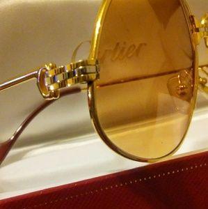 79e117f1f4 Cartier Accessories - Mens vintage CARTIER PANTHERE SUNGLASSES 100%
